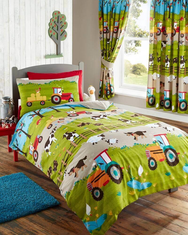 Farmyard Duvet Cover Set - Children's Bed Linen