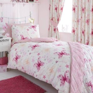 Make A Wish Duvet Cover Set - Baby Girl Bedding
