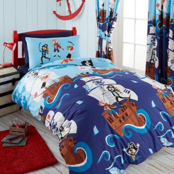 Swashbuckling Pirates Children's Bed Linen Set
