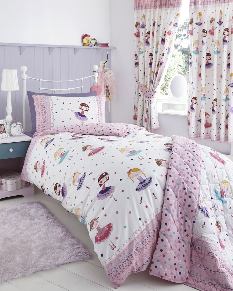 Ballerina Duvet Cover Set - Baby Bed Linen Set