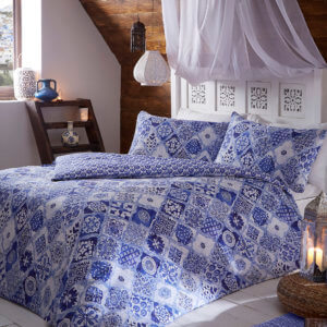 Blue Kasbah Duvet Cover Set