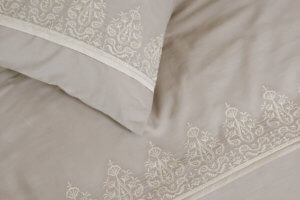 Close View - Venice Design Cotton Bed Linen Set