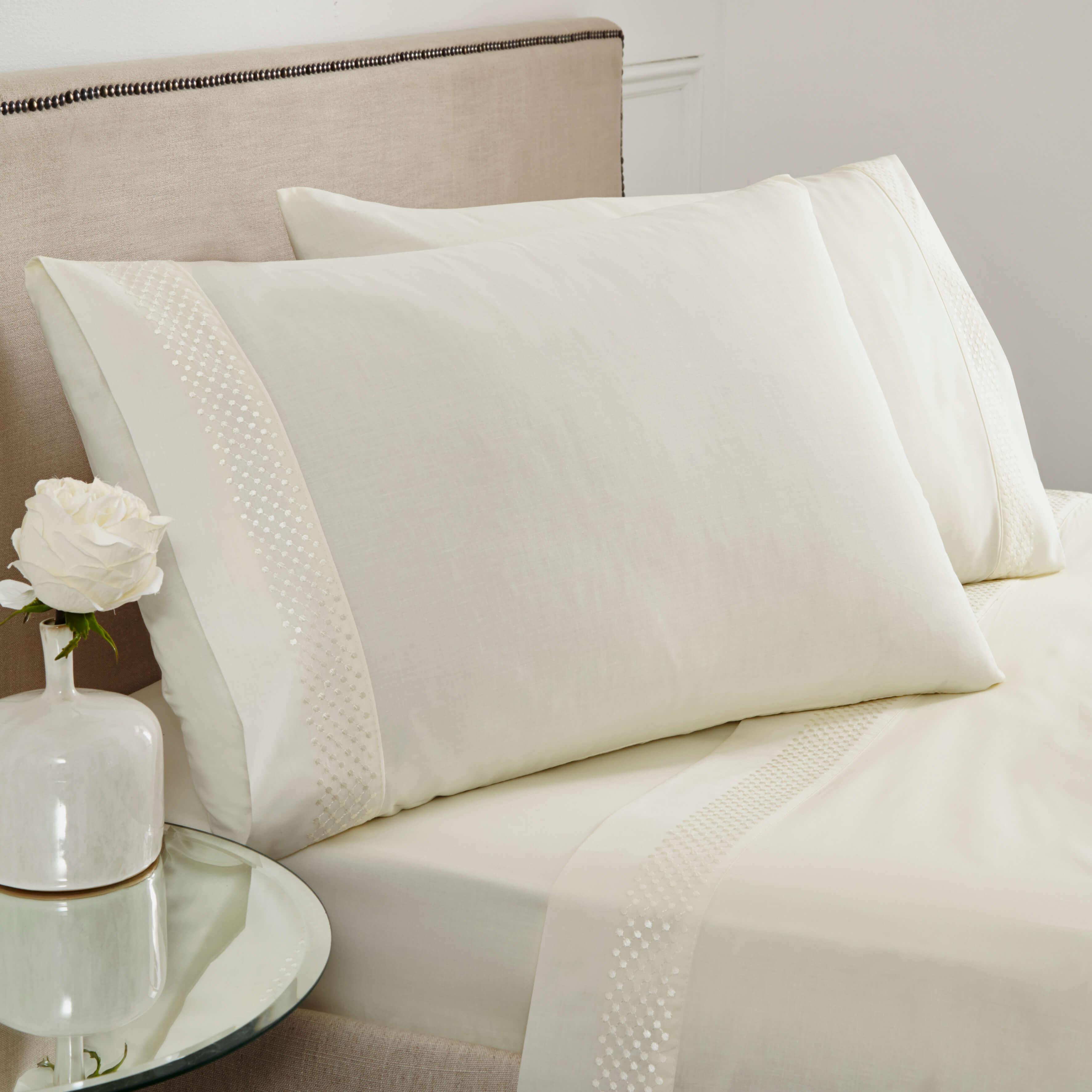portland luxury sheet set super king size white. Black Bedroom Furniture Sets. Home Design Ideas