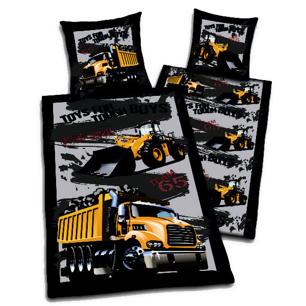 Trucks & Diggers Duvet Cover Set