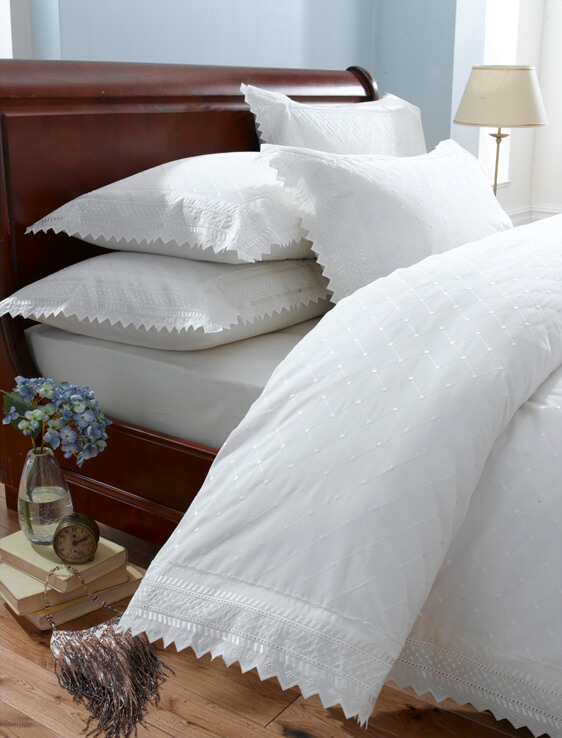 Balm White Single Duvet Set The, What Size Is A Single Bed Cover