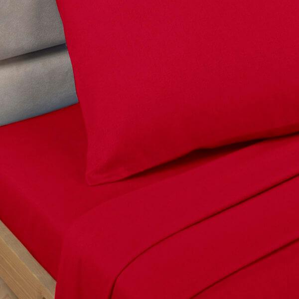 plain dye red