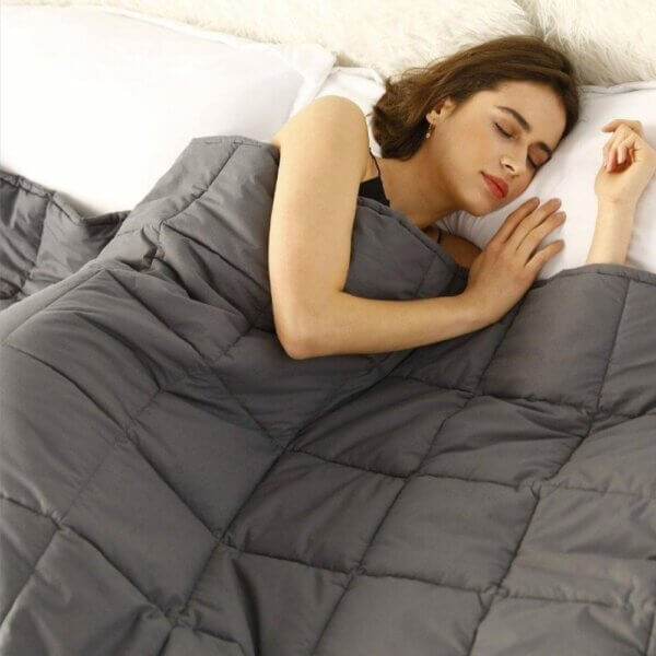 Weighted Microfibre Blanket (3)