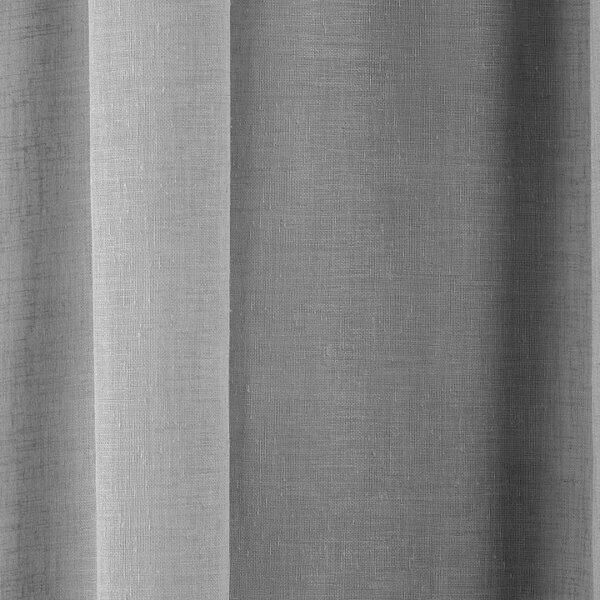 Tahiti Grey Voile Fabric